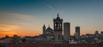 Bergamo arkivfoton