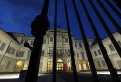BERGAMO, o 1º de novembro de 2018: Galeria de arte de Accademia Carrara imagem de stock royalty free