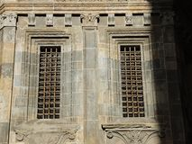 Bergamo - Old city. Lombardia. Architectural details of the Cathedral called Santa Maria Maggi Stock Images
