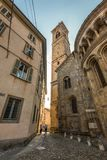 Bergamo old city - one of the beautiful city in Italy Royalty Free Stock Photography