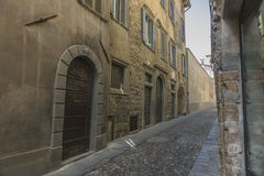 Bergamo Old City Royalty Free Stock Image