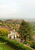 Bergamo old town. Royalty Free Stock Images