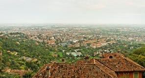 Bergamo old town. Stock Photos
