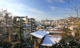Bergamo old town, Italy Stock Image