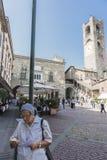 Bergamo - Oude stad Royalty-vrije Stock Fotografie
