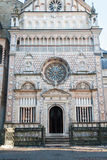 Bergamo - Portal of Colleoni chapel by cathedral Santa Maria Maggiore Royalty Free Stock Images