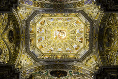 Bergamo-` s Duomo Stockfotografie