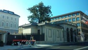 Bergamo-Stadt Stockfotos