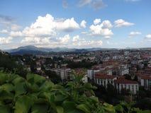 Bergamo-Stadt Stockfotografie
