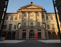 BERGAMO, 24 2018 STYCZEŃ: Accademia Kararyjski jest galerią sztuki i akademią sztuki piękna w Bergamo Lombardy, Włochy, 24 JANU Obraz Royalty Free