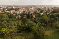 Bergamo suburb Royalty Free Stock Photo