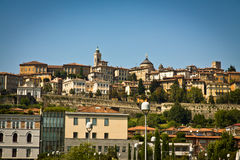 Bergamo Upper Old City Royalty Free Stock Images