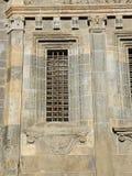 Bergamo - vecchia città I dettagli architettonici della cattedrale hanno chiamato Santa Maria Maggi Fotografia Stock Libera da Diritti