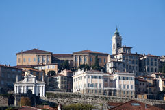 Bergamo view Stock Images