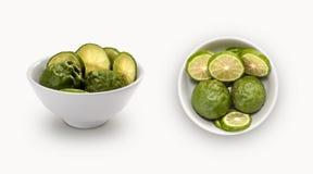 Bergamot in a bowl Stock Images