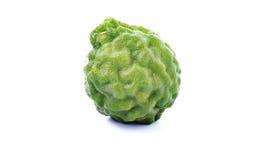 Bergamot. Fruit isolated on white background royalty free stock image
