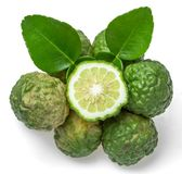 Bergamot fruit. On white background Stock Images