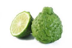 Bergamot fruit. On white background royalty free stock image