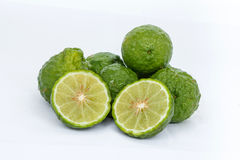 Bergamot. That herbs and condiment in Thailand royalty free stock images