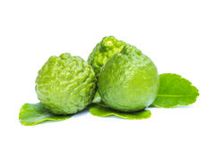 Bergamot. Isolated white background royalty free stock images