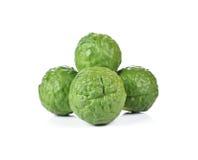 Bergamot (Kaffir lime) royalty free stock photos