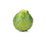 Bergamot (Kaffir lime) stock photo