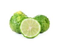 Bergamot (Kaffir lime) stock images