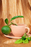 Bergamot tea Stock Photo