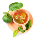 Bergamot tea Royalty Free Stock Images