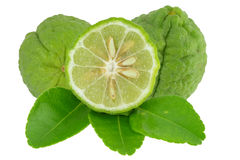 Bergamot. The bergamot on the white background stock images
