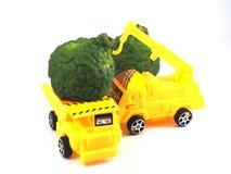 Bergamote d'herbe de camion de voiture de jouet Image libre de droits