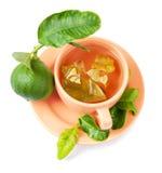 bergamotowa herbata Obrazy Royalty Free