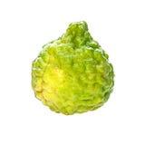 Bergamotowa owoc na białym tle Zdjęcia Stock
