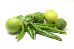Bergamotto del pepe del limone Fotografie Stock
