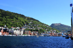Bergan Norvegia Fotografia Stock