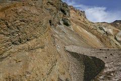 bergbögsnow Arkivbilder