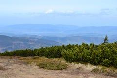 Bergbakgrund Royaltyfria Bilder