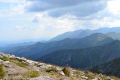 Bergbakgrund, Tatra berg, Polen Royaltyfria Foton