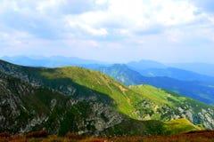 Bergbakgrund, Tatra berg, Polen Arkivfoto