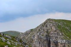 Bergbakgrund, Tatra berg, Polen Royaltyfri Fotografi
