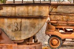 Bergbau-Gang in San Luis Potosi lizenzfreies stockbild