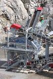 Bergbau im Steinbruch Lizenzfreie Stockbilder
