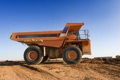 Bergbau-LKW Stockbild