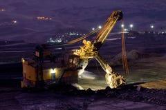 Bergbau-LKW-Funktion Lizenzfreie Stockfotografie