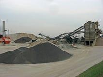 Bergbau nach der Extraktion Stockfotografie