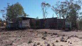 Bergbau nach Opalen und Bergbauleben im NSW-Hinterland Opal Fields, New South Wales, Australien Stockfotos
