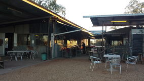 Bergbau nach Opalen und Bergbauleben im NSW-Hinterland Opal Fields, New South Wales, Australien Lizenzfreie Stockfotografie