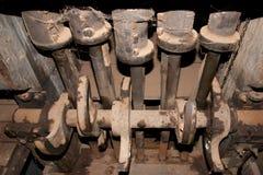 Bergbau-Stempel-Mühle Stockfoto