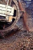 Bergbaubagger lizenzfreie stockfotos