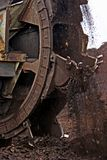 Bergbaubagger stockfotografie